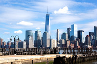 Lower Manhattan from Liberty State Park