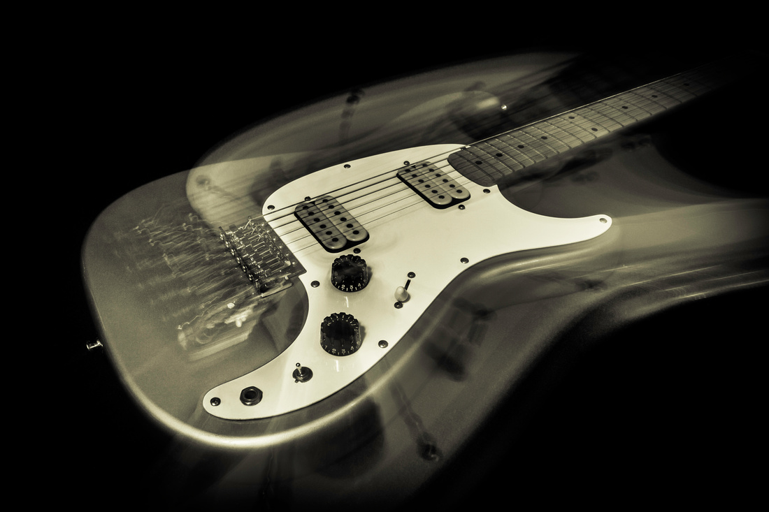 Electric Guitar Ghost